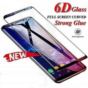 Mascot Max tempered glass 6D Full edge to edge cover tempered glass black for Nokia 7.1