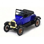 Motormax 1:24 1925 Ford Model T Runabout Vehicle Blue