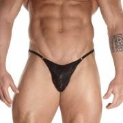 Don Moris Printed Fabric Rings Slip Bikini Underwear DM031767