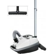 Aspirator de praf In'genius ProSilence 59 Bosch, 5.00l, 650W, alb, silver,BGB8A32W