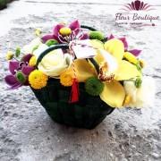 Cos flori in gentuta