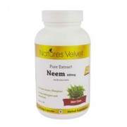 Neem 500mg Pure Extract 60 Veg Capsules By Natures Velvet