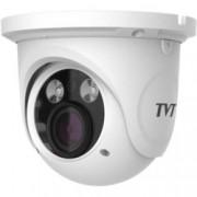 IP камера TVT TD-9525S1(D/FZ/PE/AR2), куполна, 1920 x 1080(2.0MP@25 кад./сек.), моторизиран обектив 2.8 - 12mm, H.264, IR осветление до 30 метра, вътрешна/външна, PoE 802.3af.