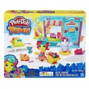 Set Magazinul de animalute Play Doh Town Hasbro