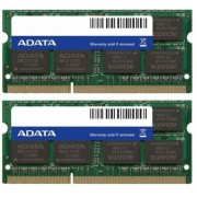 A-Data 8 GB SO-DIMM DDR3 - 1600MHz - (AD3S1600W4G11-2) A-DATA Premier Kit CL11