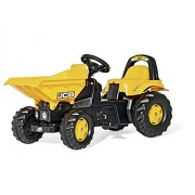 Rolly Toys JCB Dumper Kid Tractor Yellow