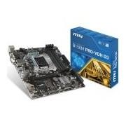 MSI Main Board Desktop B250 (S1151,4xDDR4,1xPCI-Ex16,2xPCI-Ex1, USB3.0,SATA III,DVI,HDMI,GLAN) mATX Retail (B250M_PRO-VDH)