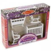 Комплект обзавеждане за къща за кукли - Детска стая, 12585 Melissa and Doug, 000772125857
