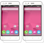Mobik Tempered Glass for Micromax Bolt Selfie Q424 - Pack of 2