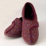 Pattersons Chaussons velcro pour femme - rouge