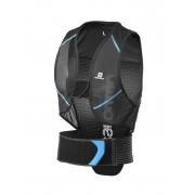 Salomon Back Prote Flexcell bescherming Heren blauw/zwart 2017 Rugbescherming