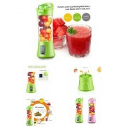 Rodex 380ml Rechargeable Portable Blender/Juicer with Sipper Holder and Usb port for Emergency charging of Smartphones