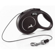 Flexi New Classic Smycz linka XS 3m czarna [FL-2429]
