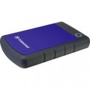 """Transcend Externí HDD 6,35 cm (2,5"""") Transcend StoreJet® 25H3B, 2 TB, USB 3.0, modrá, šedá"""