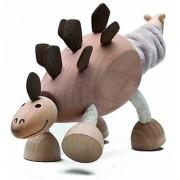 Anamalz Stegosaurus Wooden Toy
