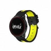 Bratara Smart Bluetooth monitorizare cardiaca calorii pedometru notificari galben SoVogue