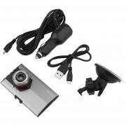 ER HD 1080P 3.0inch Coche DVR Tacógrafo Dash Seguro CAM Cámara De Visión Nocturna Por Infrarrojos -Plata Y Negro