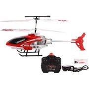 plutofit Radio Remote Controlled Helicopter with Unbreakable Blades (Multicolour)