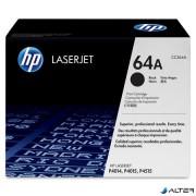 CC364A Lézertoner LaserJet P4014, P4015, P4515 nyomtatókhoz, HP 64A, fekete, 10k