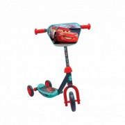 Trotineta copii AS Toys 3 roti placa antiderapanta Cars Multicolor