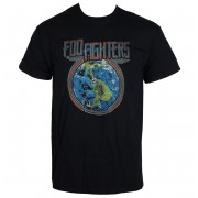 tricou stil metal bărbați Foo Fighters - Globe - LIVE NATION - PEFFI097