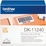 Brother P-Touch QL 1100. Etiquetas de Papel Negro/Blanco Original