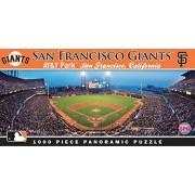 Master Pieces Masterpieces MLB San Francisco Giants Stadium Panoramic Jigsaw Puzzle, 1000-Piece