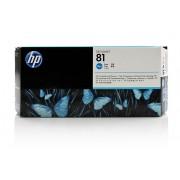 HP C4951A, No.81, azurová - originální hlava bez čističe