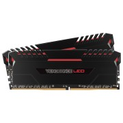 Kit de memoria C15 DRAM DDR4 a 3000 MHz VENGEANCE® LED de 16 GB (2 x 8 GB) - LED rojos