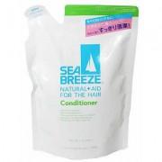 """Shiseido «Sea Breeze» Кондиционер для волос """"Морской бриз"""" для жирной кожи головы и всех типов волос, c ароматом морской свежести, запасной блок, 400 мл."""