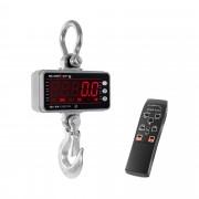 Balança digital de guindaste - 1000 kg / 0,5 kg - LED - Alumínio