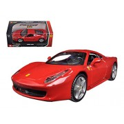 Bburago 44016R Ferrari 458 Italia Red 1-32 Diecast Model Car