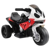 Big Fun Club BMW Kids' Ride-On Motorbike (Red)