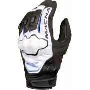 Macna Assault Gloves Black White Blue S
