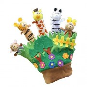 Dhlink Baby Toy Toddler Zoo Play Gift Animal Story Telling Finger Puppet Hand Glove New
