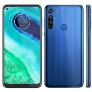 "Telefon Mobil Motorola Moto G8, Procesor Octa-Core Snapdragon 665, IPS LCD capacitive touchscreen 6.4"", 4GB RAM, 64GB Flash, Camera Tripla 16+8+2MP, Wi-Fi, 4G, Dual Sim, Android (Albastru) + Cartela SIM Orange PrePay, 6 euro credit, 6 GB internet 4G, 2,00"