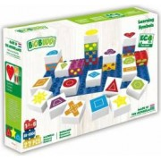 Set de constructie BioBuddi Simboluri varsta recomandata 1,5 - 6 ani Multicolor