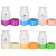 Niyam Multipurpose 3 in 1 Leak Proof Travel Empty Plastic Liquid Triad Bottle for Cosmetic, Toiletries, Shampoo, Lotion, Body Wash (Pack of 2) Travel Toiletry Kit(Multicolor)
