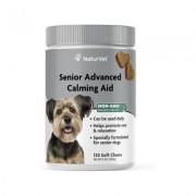 NaturVet Senior Advanced Calming Aid Soft Chews Dog Supplement, 120 count