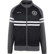 Unfair Athletics Raglan TT Herren Trainingsjacke schwarz grau