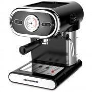 Espressor manual Heinner HEM-1100BK, 1100 W, 1 L, 15 bar, Negru