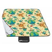 PICNIC ASTRONAUT Picnic pătură 130 x 150 cm
