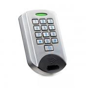 Dispozitiv de acces stand alone cu actionare prin cartela de proximitate MIFARE 13.56 Mhz sau cod, ECK-23