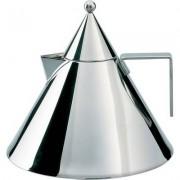 Il Conico vattenkokare, silver