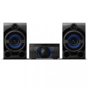 Аудио система Sony MHC-M20D, 2.1, караоке, CD, DVD, MP3, XVID, MPEG4, USB, FM, Bluetooth, черна