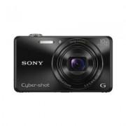 Sony DSC-WX220 Fotocamera Digitale Compatta Cyber-shot, Sensore CMOS Exmor R da 18,2 Megapixel, Obiettivo Sony G con Zoom Ottico 10x, Nero