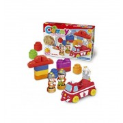 Clemmy Plus Bomberos Construcciones - Clementoni
