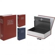Könyv alakú biztonsági doboz - Kék