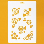 Asian Hobby Crafts Craft Stencils for Sketching Scrapbooking Kids Crafts - Abstract B