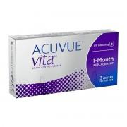 ACUVUE Vita -6.00 mensuelles 3 lentilles de contact Acuvue -6.00 Senofilcon C